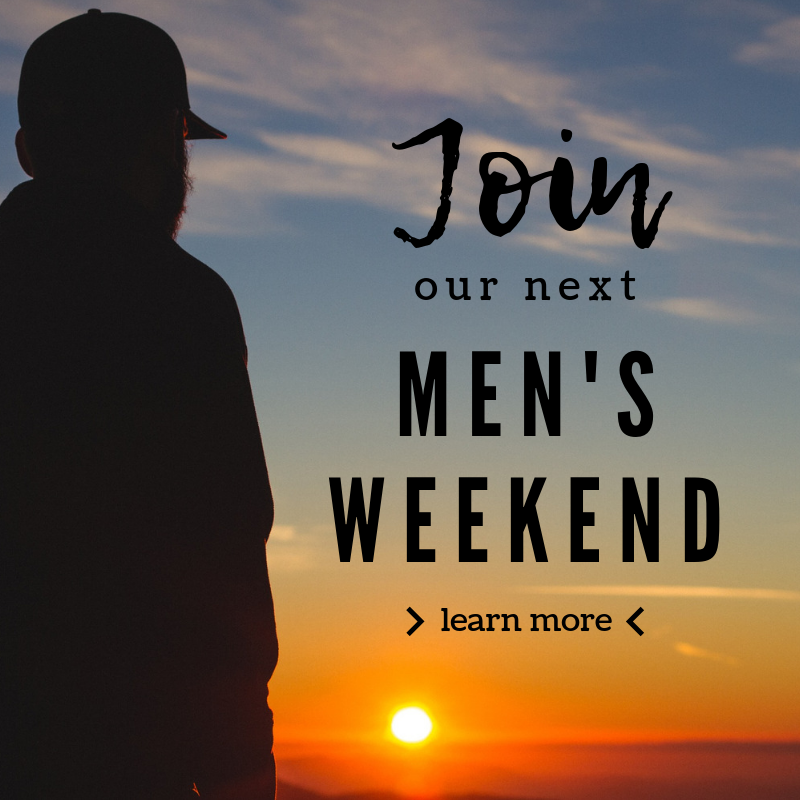 Join our next men's weekend
